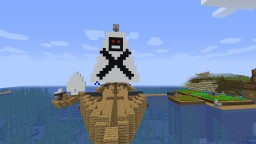 Pirate Village & Ships Minecraft Map & Project