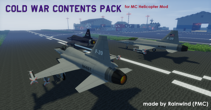 Popular Mod : [MCHeli] Cold War Contents Pack for MCHeli 1.0.4