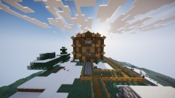 Mansion On a Mountain Minecraft Map & Project