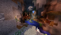 Cavern Home Minecraft Map & Project