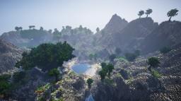 Tropical island Minecraft