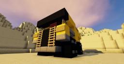 Caterpillar 773B Dump Truck Minecraft Map & Project
