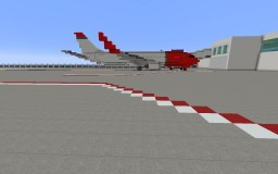 Boeing 737-800 [Remastered] Minecraft Map & Project