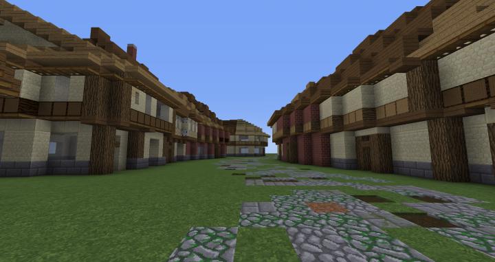 Finishing the street