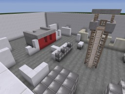 Call of Duty MW4 Killhouse PVP Map Minecraft Map & Project
