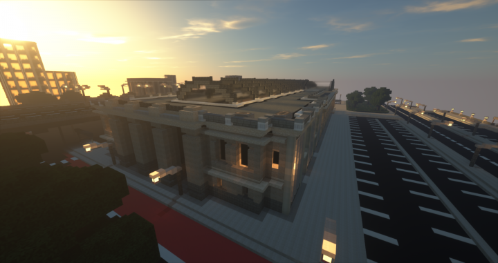Popular Server Project : Grand Central Train Station | Mineopolis and the Countryside