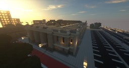 Grand Central Train Station | Mineopolis and the Countryside Minecraft Map & Project