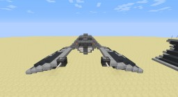 Imperial Scout S-12 Blackbolt (closed) Minecraft Map & Project