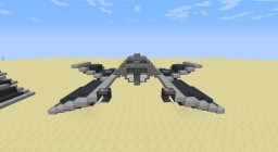 Imperial Scout S-12 Blackbolt (open) Minecraft Map & Project