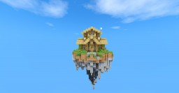 LIFE IN SKY REBORN (SkyBlock+ Loja + Mods + Quest 100% Portugues. Minecraft Map & Project