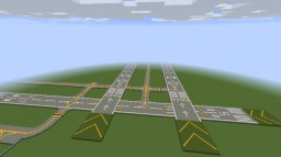 Realistic Regional Airport Minecraft Map & Project