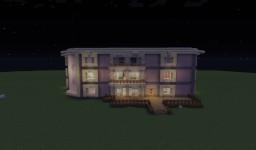 Красивый отель Minecraft Minecraft Map & Project