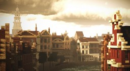 Steigersgracht, Rotterdam, Netherlands Minecraft