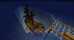 The Shipwreck (Naturally spawned ruin) Minecraft Map & Project