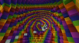 The Rainbow Death Tube Minecraft Map & Project
