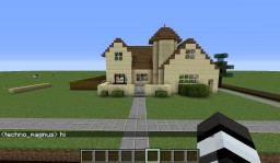 Cool Castle House Minecraft Map & Project