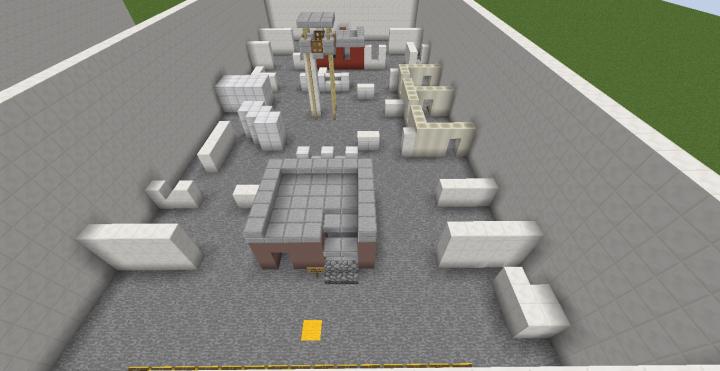 FPS minecraft map Modded [1VS1-2VS2-3VS3-4VS4-5VS5