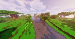 2k x 2k Simple custom terrain Minecraft Map & Project