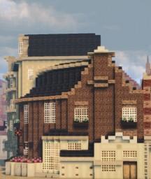 Hoogstraat 205, Rotterdam, Netherlands Minecraft Map & Project