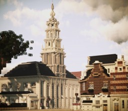 Waalse Kerk, Rotterdam, Netherlands Minecraft Map & Project