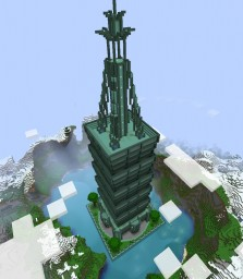 Aquatic Skyscraper Minecraft Map & Project