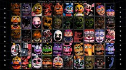 FNaF Ultimate Custom Night Texture Pack Minecraft Map & Project