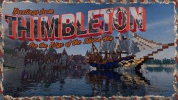 The Merchant Town of Thimbleton Minecraft Map & Project