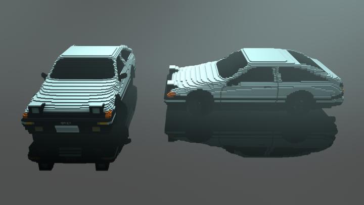 Toyota Sprinter AE86 Trueno GT Apex