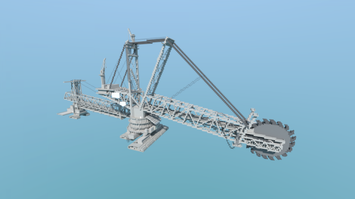 Popular Server Project : The Largest Land Vehicle in the World - The Bagger 288