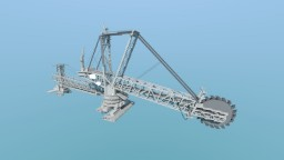 The Largest Land Vehicle in the World - The Bagger 288 Minecraft Map & Project