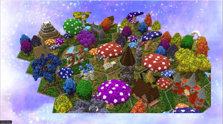 Popular Server Project : Fantasy game.