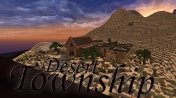 Desert township Minecraft Map & Project