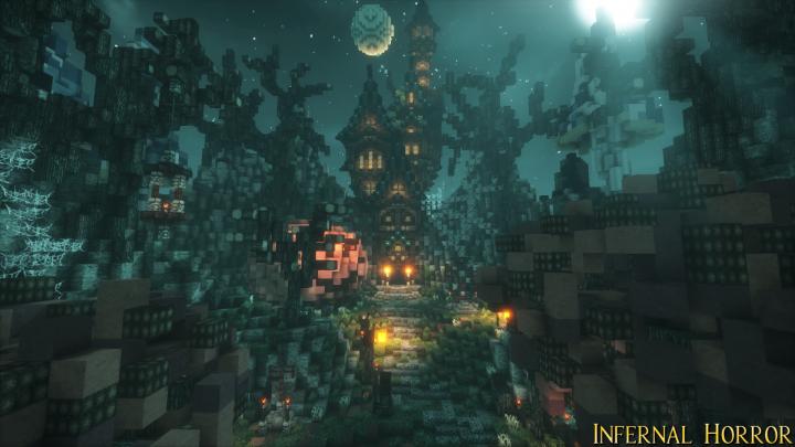 Popular Server Project : MysticRunes Gallery - Dungeon Infernal Horror