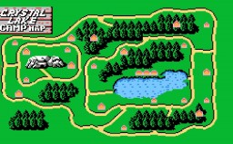 Friday the 13th NES Game Minecraft Map & Project