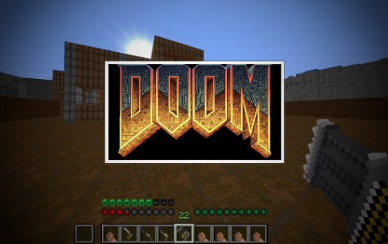 DOOM 1993 IN MINECRAFT! (1 12 2) Minecraft Project