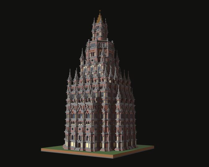 Popular Project : Gothic Skyscraper 2
