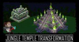 Jungle Temple Transformation Minecraft Map & Project