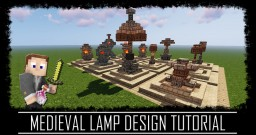 12 Lamp Design Pack + map Minecraft Map & Project