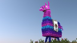 Fortnite Loot Llama Minecraft Map & Project