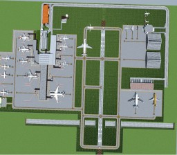 International Airport | Full Interior Minecraft