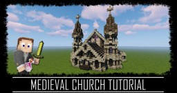 Medieval Rustic church + schematic Minecraft Map & Project