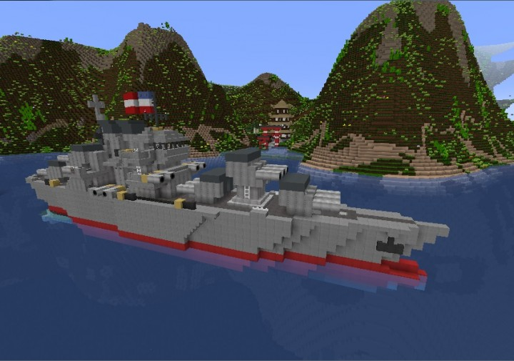 Popular Server Project : US Light Cruiser Brooklyn CL-40 (Movecraft/NavyCraft) WarShip