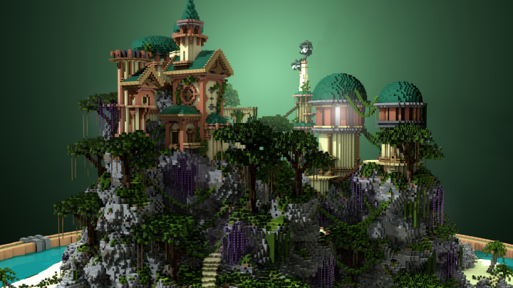Popular Project : Tropical Palace | By Acrypex & TheBiome