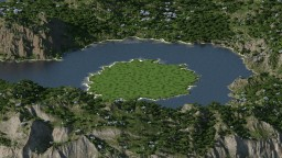 Island in the middle of the sea Minecraft