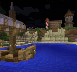 Scarcity in Liberty: The New World's test server Minecraft Blog Post