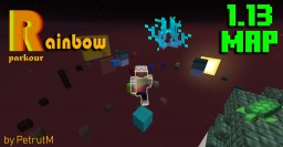 Rainbow Parkour - By PetrutM Minecraft Map & Project