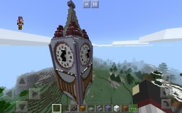 Completed Clocktower Minecraft Map & Project
