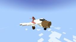 (Custom made) TAF FI 23 cortez fighter plane Minecraft