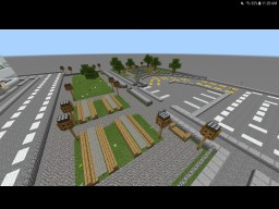 The cities first community park. Minecraft Map & Project