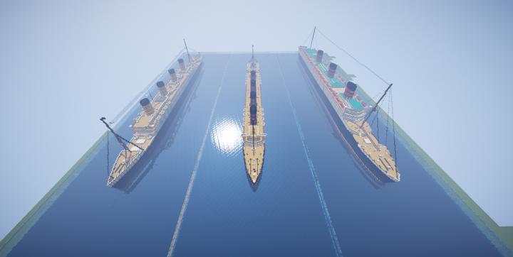 Popular Server Project : Titanic, Lusitania, Queen mary